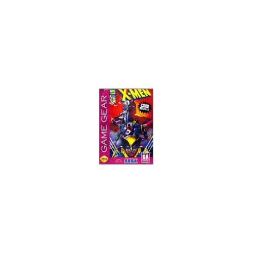 X-Men For Sega Game Gear Vintage