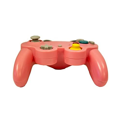 Image 3 of Replacement Controller Pink By Mars Devices Gamepad For GameCube Wii