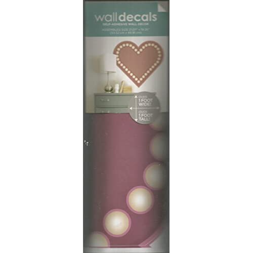 Heart Wall Decals Self-Adhesive Wall Decor
