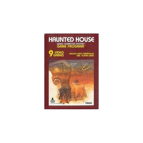 Haunted House For Atari Vintage