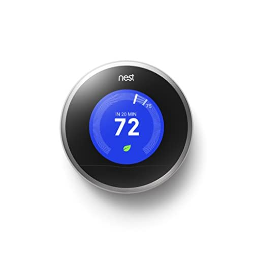 Image 0 of Nest Learning Thermostat 2nd Generation Works With Amazon Alexa