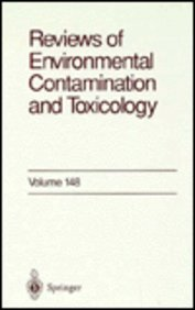 Reviews Of Environmental Contamination & Toxicology Hardcover by