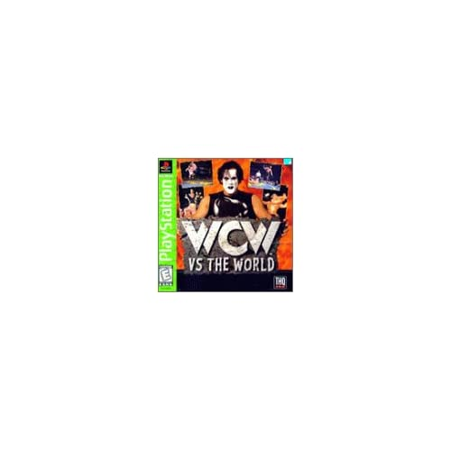 Image 0 of WCW Vs The World PlayStation For PlayStation 1 PS1 Wrestling