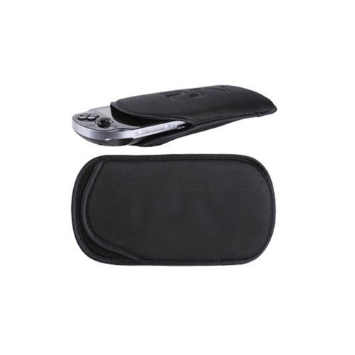 Image 0 of Soft Carry Bag Protective Sleeve Cover For Sony PlayStation Psv Black For Ps Vit