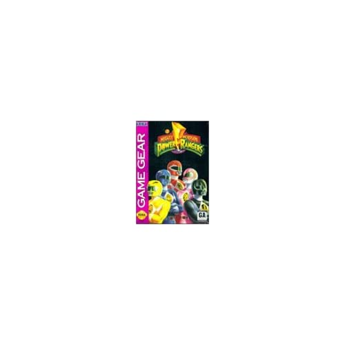 Image 0 of Mighty Morphin' Power Rangers For Sega Game Gear Vintage