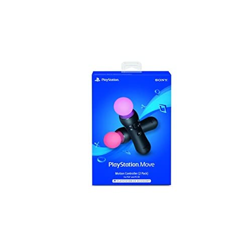 Image 0 of Move Motion Controllers Two Pack For PlayStation 4 PS4 Micro USB Model