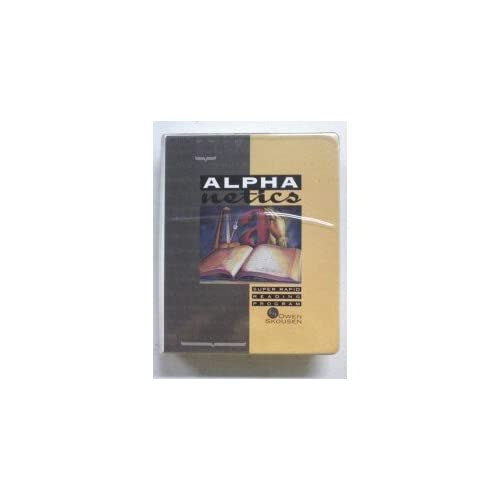 Image 0 of Alphanetics Super Rapid Reading Program By Owen Skousen On Audio Cassette