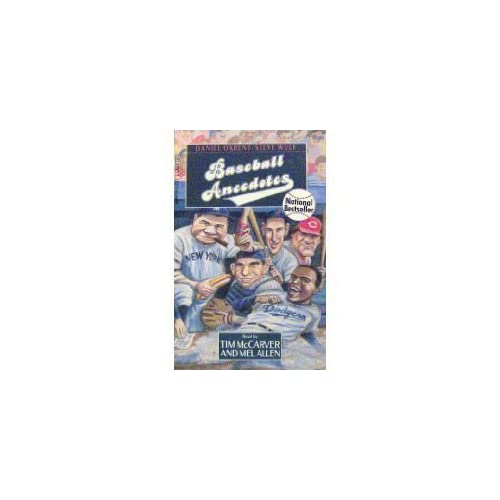 Image 0 of Baseball Anecdotes By Daniel Okrent And Steve Wulf On Audio Cassette