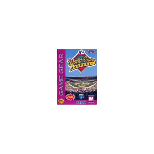 World Series Baseball Vintage Action For Sega Game Gear