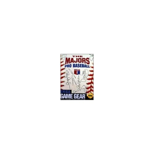 Majors Pro Baseball Vintage For Sega Game Gear