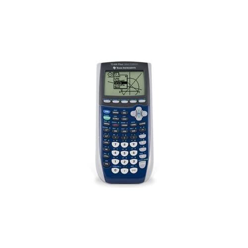 Texas Instruments Inc TI-84 Plus Silver Edition Blue Graphing Calculator TI-84 P
