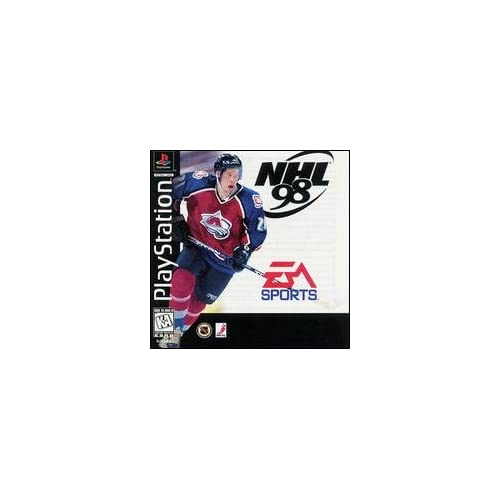 Image 0 of NHL 98 For PlayStation 1 PS1 Hockey
