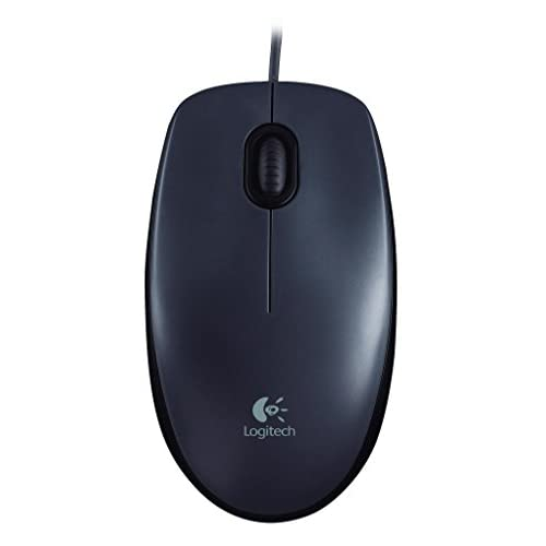 Image 0 of Logitech Wired Mouse M90 Black USB M100
