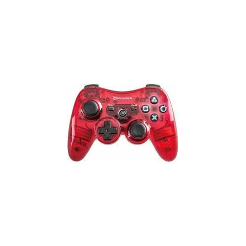 Image 0 of PS3 PowerA Pro Wireless Transl For PlayStation 3 Red Gamepad NCD881