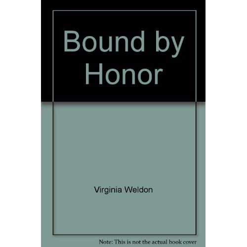 Image 0 of Bound By Honor By Virginia Weldon On Audio Cassette
