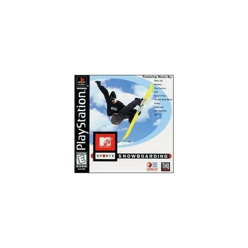 Image 0 of MTV Sports Snowboarding For PlayStation 1 PS1 Racing