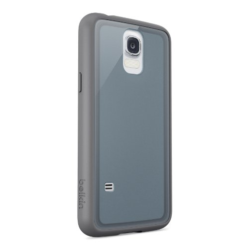 Image 2 of Belkin Air Protect Grip Vue 2.0 Case For Samsung Galaxy S5 Slate/clear