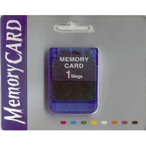 Image 0 of PS1 Memory Card 3rd Party For PlayStation 1