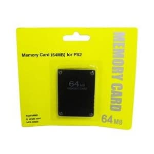 64MB 64 MB Memory Save Card For PlayStation 2 PS2 Console Game