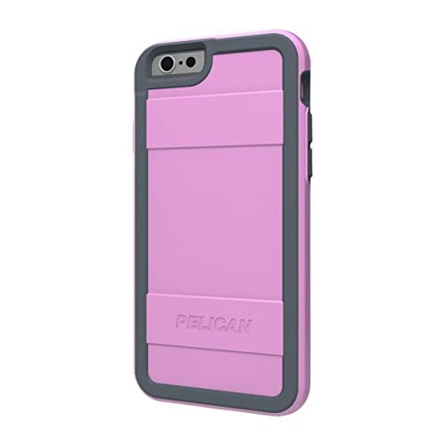 Image 0 of Pelican Protector Series Case For iPhone 6 6S Pink/gray Cover Grey  Fitted
