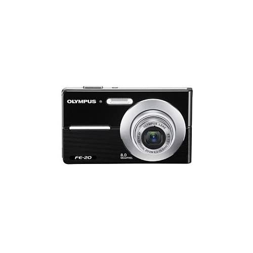Olympus FE-20 8MP Digital Camera Black AEQ121