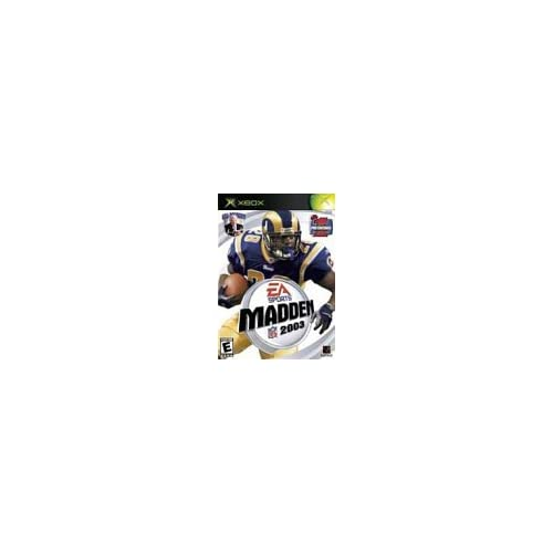 Image 0 of Madden NFL 2003 For Xbox Original Football