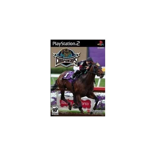 Breeders Cup World Championship For PlayStation 2 PS2 Racing