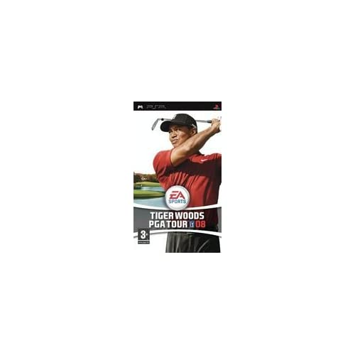 Image 0 of Tiger Woods PGA Tour 08 PSP By Electronic Arts For PSP UMD Golf