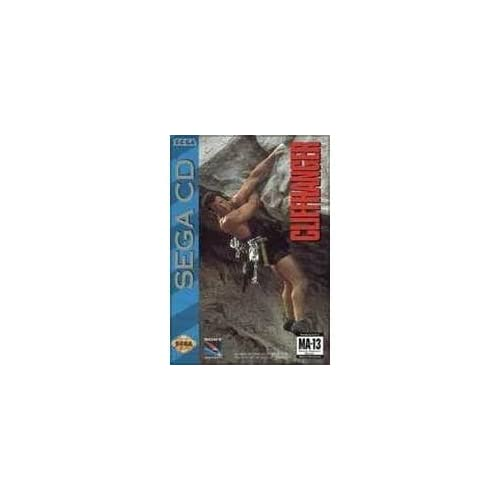 Cliffhanger For Sega CD With Manual and Case
