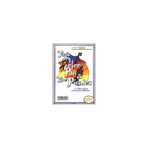 Fox's Peter Pan And The Pirates: The Revenge Of Captain Hook For Nintendo NES Vi