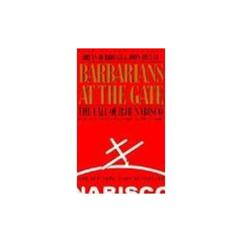 Image 0 of Barbarians At The Gate By Bryan Burrough And John Helyar Reader On Audio Cassett