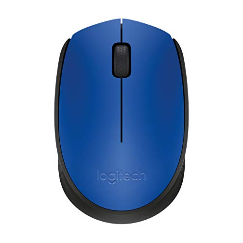 Image 0 of Logitech M170 Wireless Mouse Blue Mini NRV147