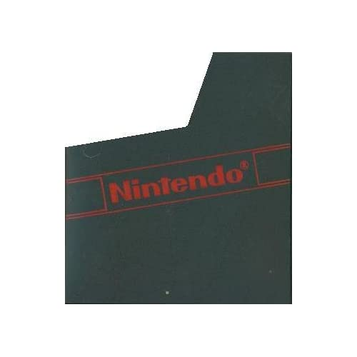 Image 0 of Nintendo NES Game Cartridge Dust Cover Sleeve For Nintendo NES Vintage Black FWY