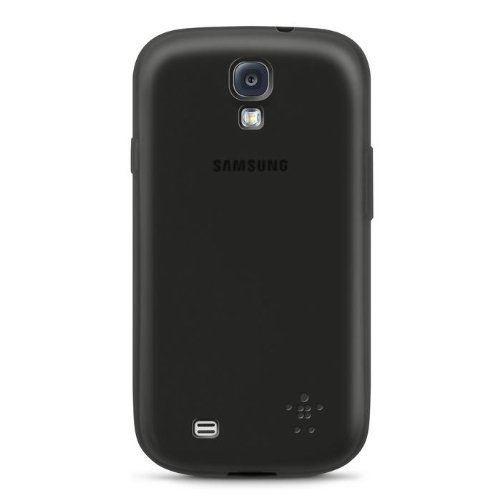 Belkin Sheer Matte Case Cover For Samsung Galaxy S4 Black