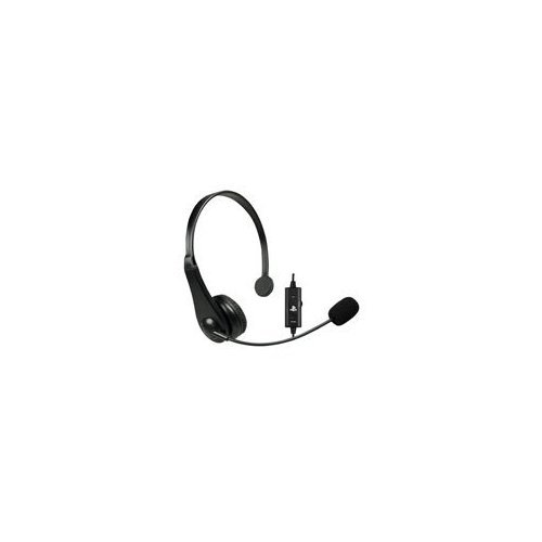Image 0 of Sony USB Chat Headset For PlayStation 3 PS3 Microphone Mic Black