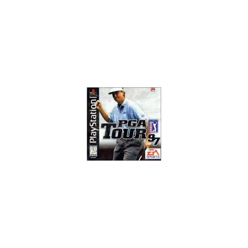 PGA Tour 97 For PlayStation 1 PS1 Golf