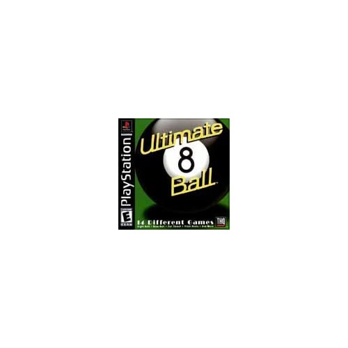 Image 0 of Ultimate 8 Ball PlayStation For PlayStation 1 PS1 Arcade