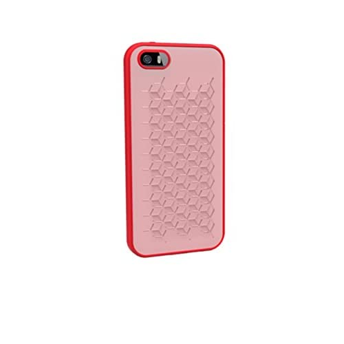 Image 0 of WoW Protective Silicone Case Cover For iPhone 5 5S SE Red Fitted