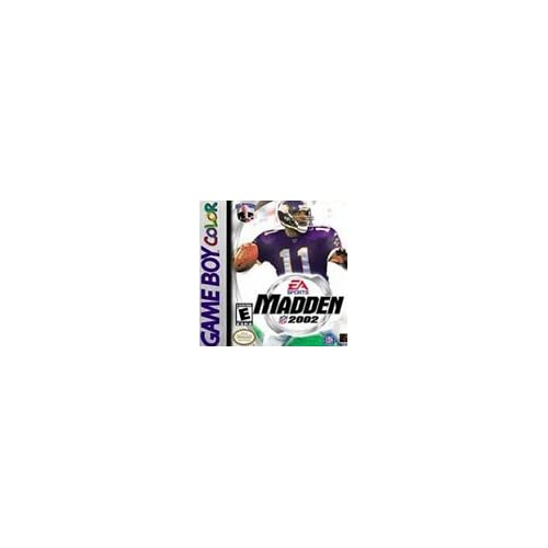 Image 0 of Madden NFL 2002 On Gameboy Color Football