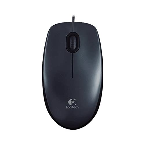 Image 0 of Logitech M100 USB Optical Wired Mouse Black