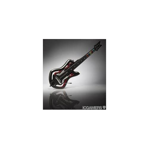 Image 0 of Guitar Hero Warriors Of Rock Red/silver For Wii Multicolor MOJ253
