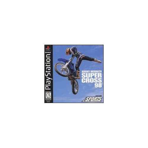 Image 0 of Jeremy Mcgrath Supercross 98 For PlayStation 1 PS1 Racing