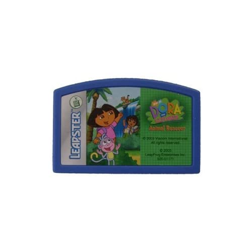 Image 0 of Leapster Learning Game Dora The Explorer Animal Rescuer For Leap Frog