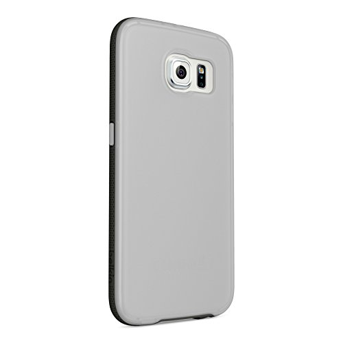 Image 3 of Belkin Grip Candy SE For Galaxy S6 Smartphone Clear Blacktop Textured
