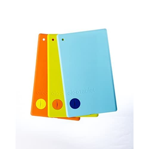 Image 0 of Oioo Tablet Color Backs 3 Pack Case Cover