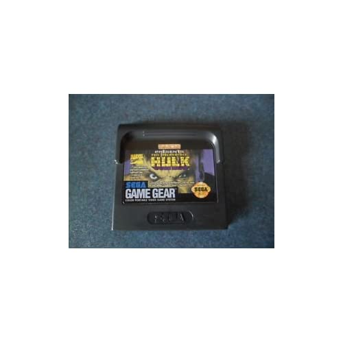 Incredible Hulk For Sega Game Gear Vintage
