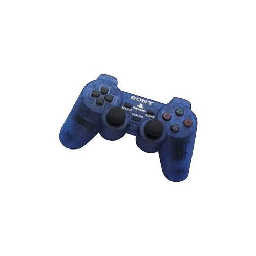 Image 0 of Sony Psone PS1 Blue Dual Shock Controller For PlayStation 1 Gamepad