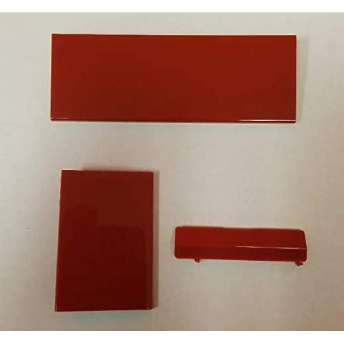 Image 0 of Red Wii Console Replacement Doors Mario Edition For Wii U