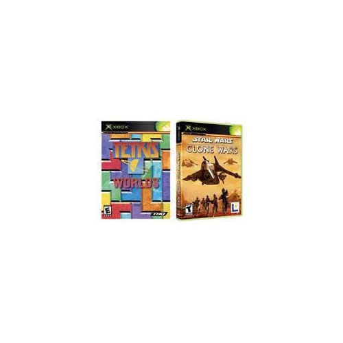Image 0 of Star Wars The Clone Wars / Tetris Worlds Combo Pack For Xbox Original