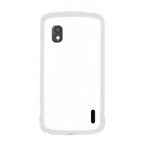 Image 0 of LG Mobile CCH190WH Bumper Nexus 4 White Case Cover